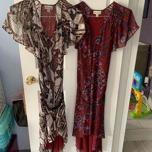 Lot of two 2 Nicole Richie Dresses size Medium